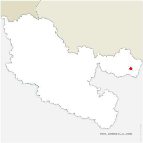 carte de localisation de Mouterhouse