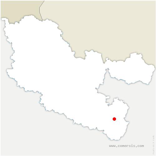 carte de localisation de Niderviller