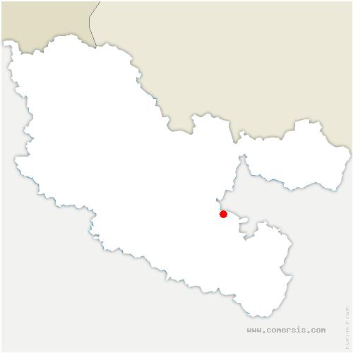carte de localisation de Niederstinzel
