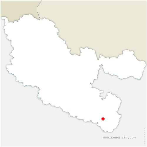 carte de localisation de Nitting
