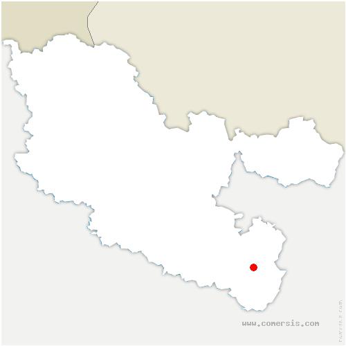 carte de localisation de Plaine-de-Walsch