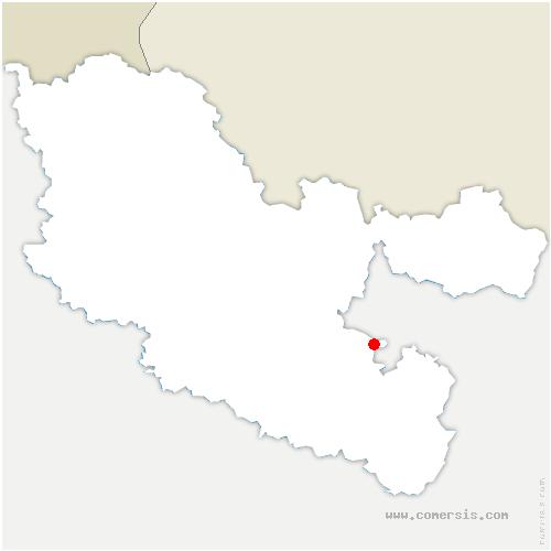 carte de localisation de Postroff