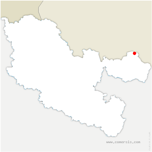 carte de localisation de Rolbing