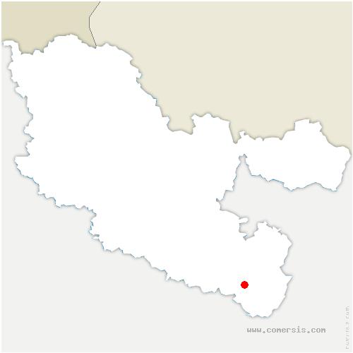 carte de localisation de Vasperviller