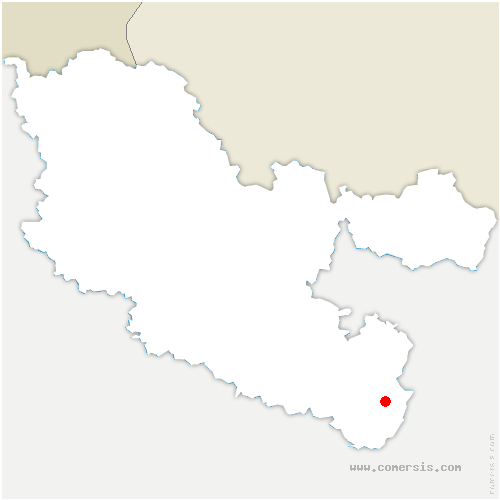 carte de localisation de Walscheid