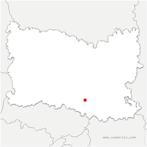 carte de localisation de Apremont