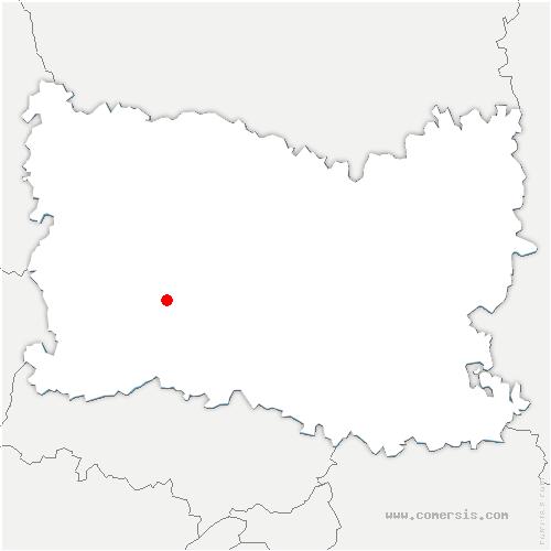carte de localisation de Auteuil