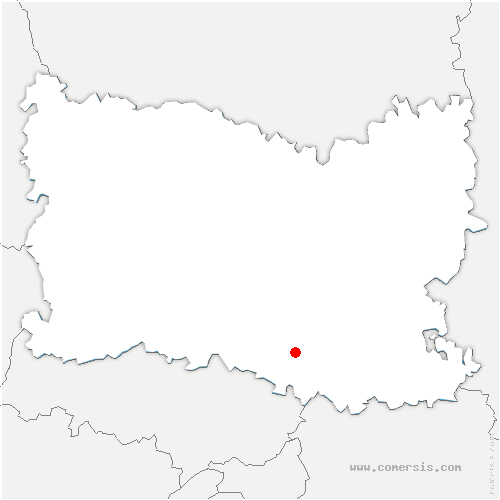 carte de localisation de Avilly-Saint-Léonard