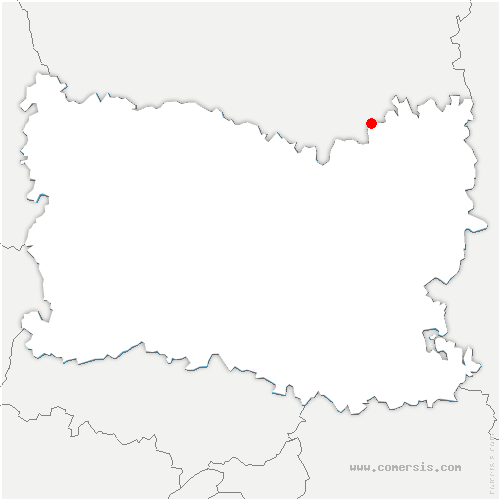 carte de localisation de Crapeaumesnil