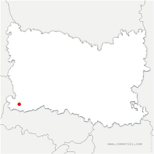carte de localisation de Delincourt
