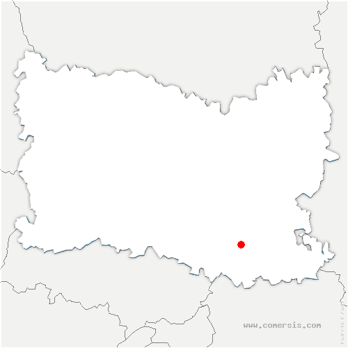 carte de localisation de Fontaine-Chaalis