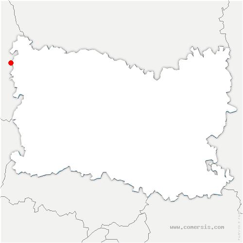carte de localisation de Formerie