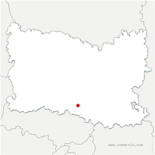 carte de localisation de Gouvieux
