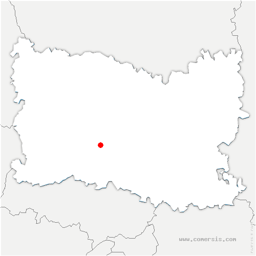 carte de localisation de Heilles