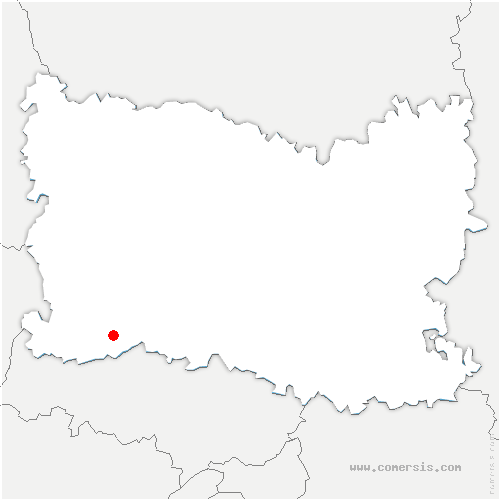 carte de localisation de Ivry-le-Temple