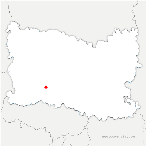 carte de localisation de Laboissière-en-Thelle