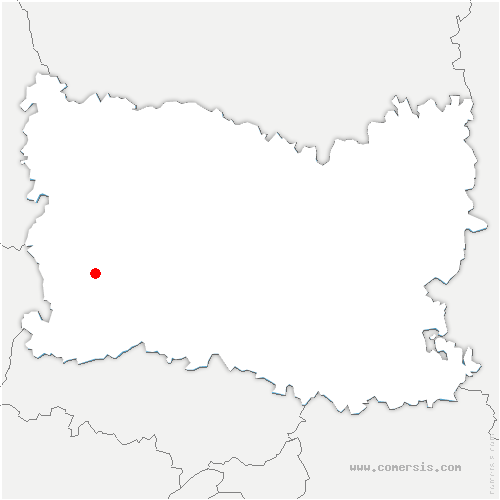 carte de localisation de Labosse