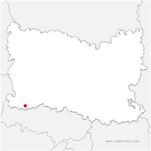 carte de localisation de Lierville