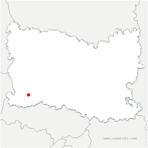 carte de localisation de Loconville