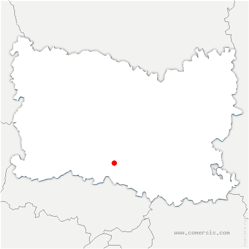 carte de localisation de Maysel