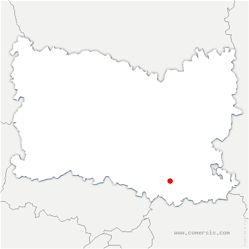 carte de localisation de Montlognon