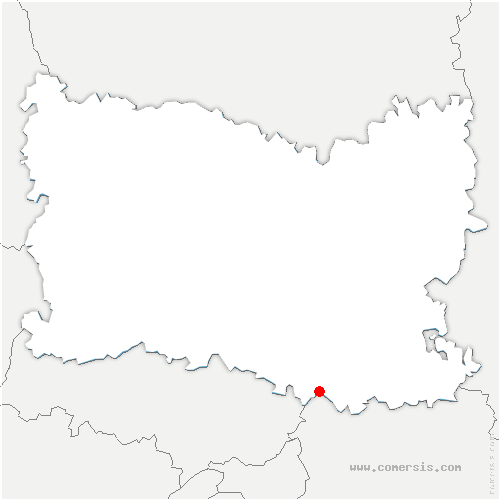 carte de localisation de Mortefontaine