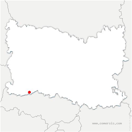 carte de localisation de Neuville-Bosc