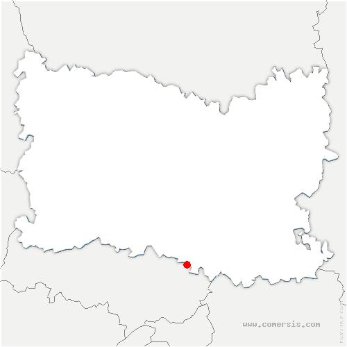 carte de localisation de Orry-la-Ville