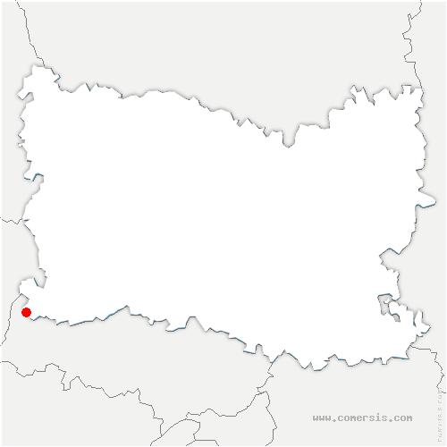 carte de localisation de Parnes