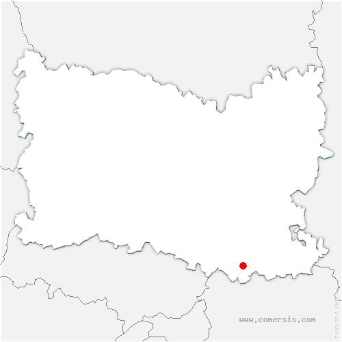 carte de localisation de Plessis-Belleville