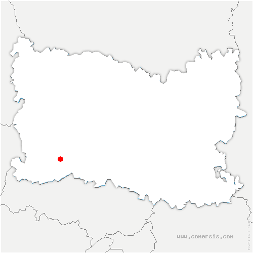 carte de localisation de Pouilly
