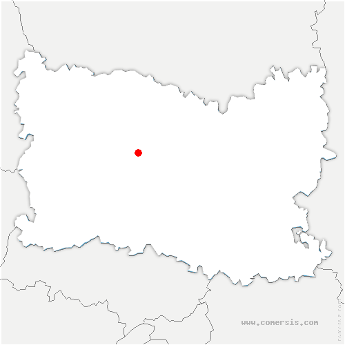 carte de localisation de Rémérangles