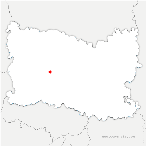 carte de localisation de Rochy-Condé