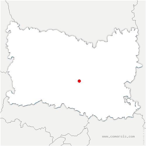 carte de localisation de Rosoy