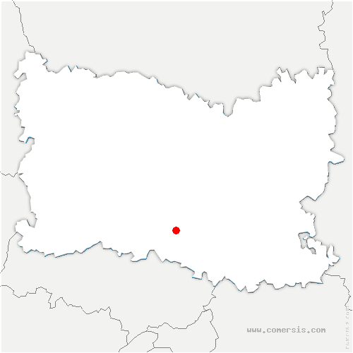 carte de localisation de Saint-Leu-d'Esserent