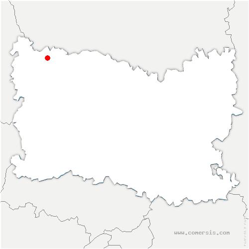 carte de localisation de Sarnois