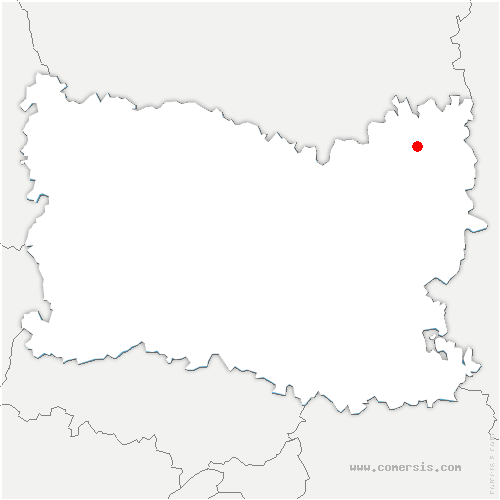 carte de localisation de Sermaize