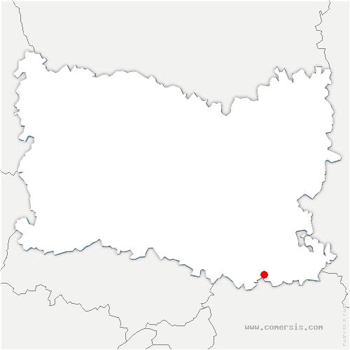 carte de localisation de Silly-le-Long