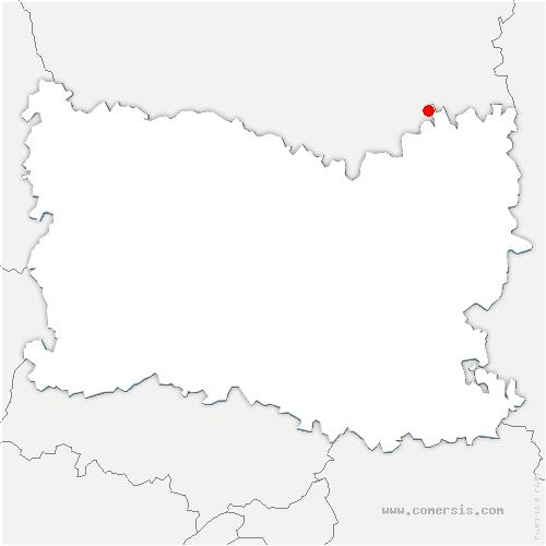 carte de localisation de Solente