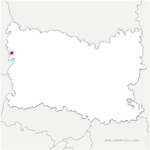 carte de localisation de Sully