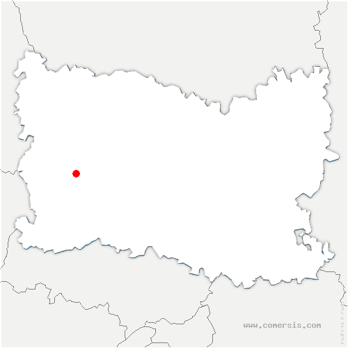 carte de localisation de Villers-Saint-Barthélemy