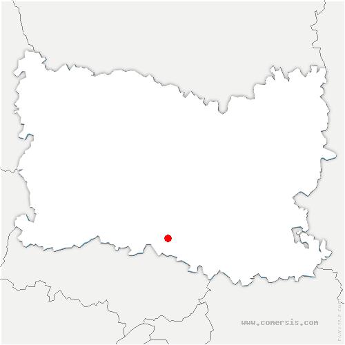 carte de localisation de Villers-sous-Saint-Leu