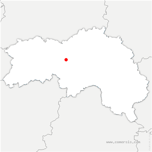 carte de localisation de Avoine