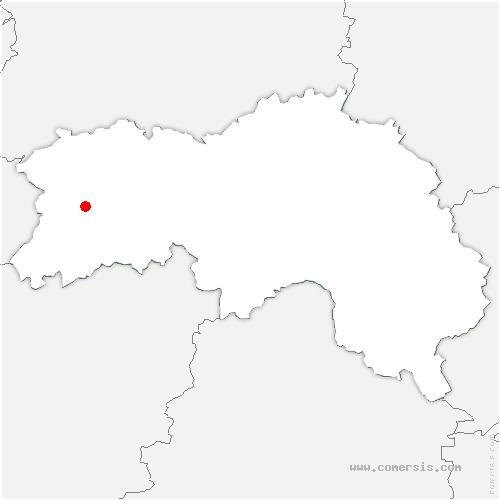 carte de localisation de Banvou