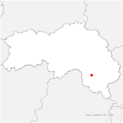 carte de localisation de Bellavilliers