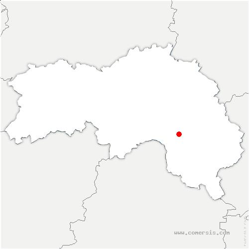 carte de localisation de Boëcé