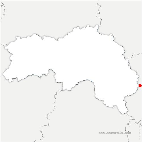 carte de localisation de Bretoncelles