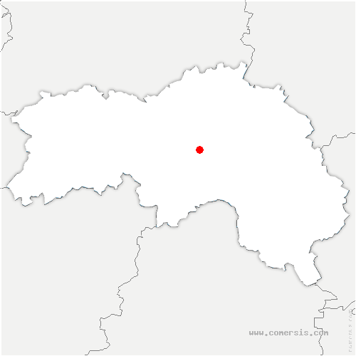 carte de localisation de Chailloué