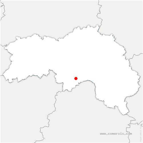 carte de localisation de Écouves