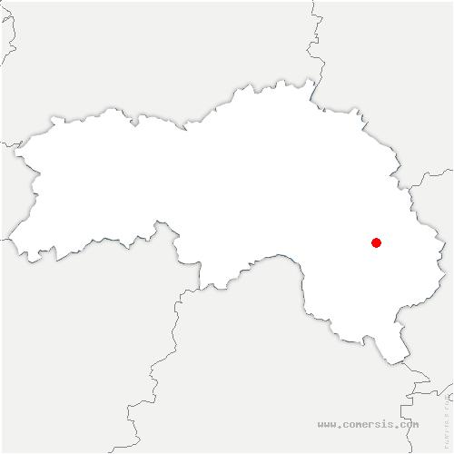 carte de localisation de Feings